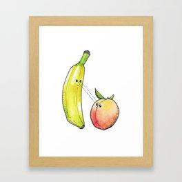 Fruit Love Framed Art Print