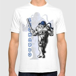 Teenage mutant ninja turtles Leo shirt T-shirt