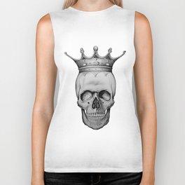 Royal Skull Biker Tank