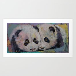 Baby Pandas Art Print