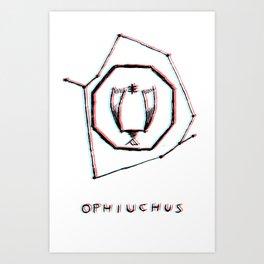 Ophiuchus Art Print