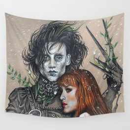 """Oh, Edward"" Wall Tapestry"