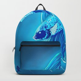 Glowing Astral Betta Backpack