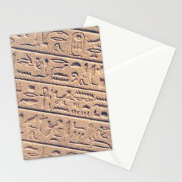 Hieroglyphics Stationery Cards