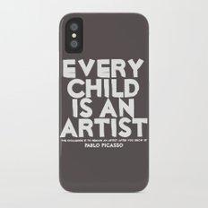 Artist - Quotable Series iPhone X Slim Case