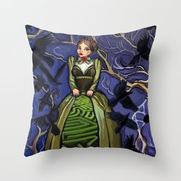 Inner Labyrinth Throw Pillow