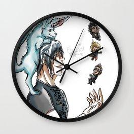 Final Fantasy XV - Chibified! Wall Clock