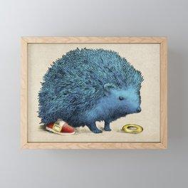 Sonic Framed Mini Art Print