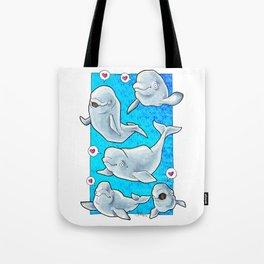 Belugas Tote Bag