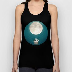 moon bunnies Unisex Tank Top