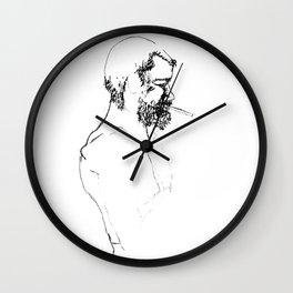 Sketch Smoking Wall Clock