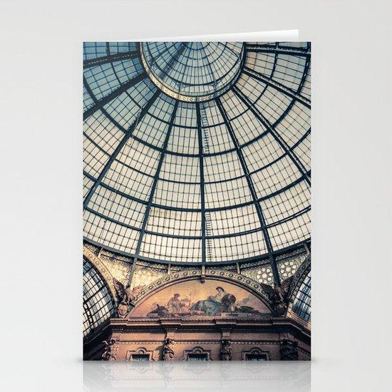 Faded Memories: Galleria Vittorio Emmanuel II, Milan Stationery Cards