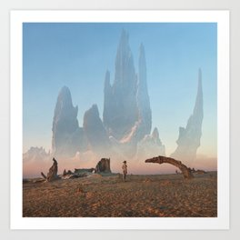 Looking for ID Art Print