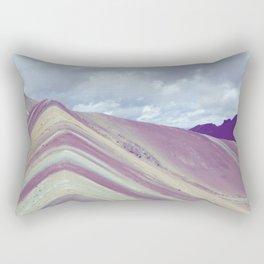 Rainbow mountain, Peru Rectangular Pillow