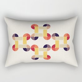 'round and 'round  Rectangular Pillow