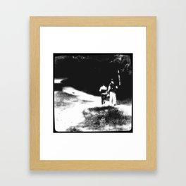 «together» Framed Art Print