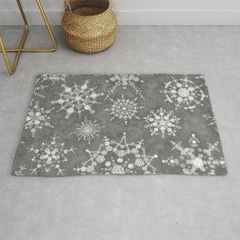 Winter Snowflakes Rug