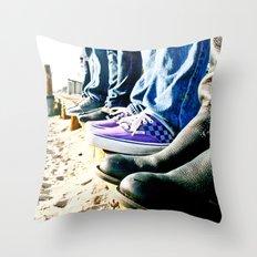 Kickin' It Throw Pillow
