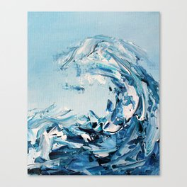 Tempestuous Wave Canvas Print