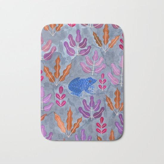 Jungle frog Bath Mat