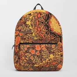 Marigold Mandala Backpack