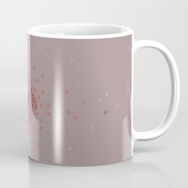 Squares in reds Coffee Mug