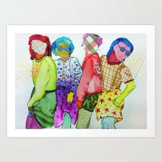 Ladies, Ladies Art Print