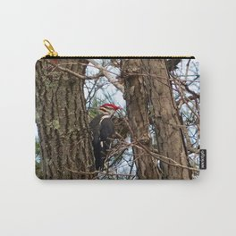 Male Pileated Woodecker Carry-All Pouch