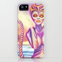 Evening sun creatures iPhone Case