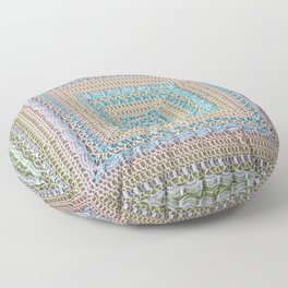 Timeless Crochet Floor Pillow