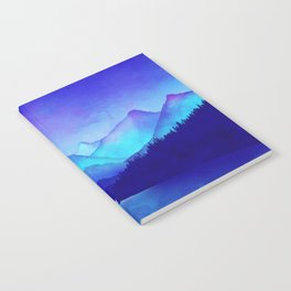Cerulean Blue Mountains Notebook