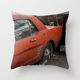 rust-stang Throw Pillow