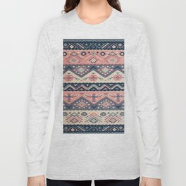 -A23- Epic Anthropologie Traditional Moroccan Artwork. Long Sleeve T-shirt