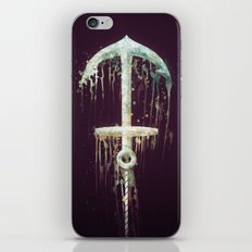 Upside Anchor iPhone & iPod Skin