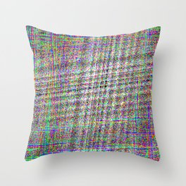 SMPTE Test Throw Pillow