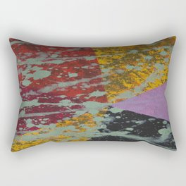 Corner Splatter # 9 Rectangular Pillow
