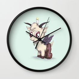 My Little Baphomet Wall Clock