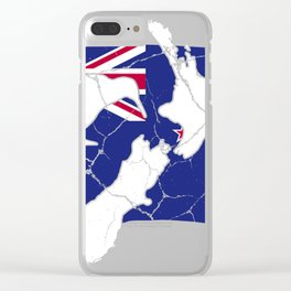New Zealand Wellington gift Auckland Clear iPhone Case