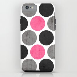 cosmopolitan polka dots iPhone Case