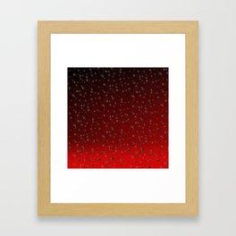 Safe with me ombre Framed Art Print