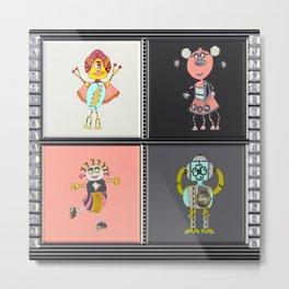 Astronaut Gal № 001 Metal Print