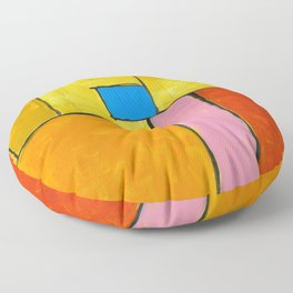 Wish You Were Here Floor Pillow