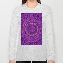 Hippie mandala 96 Long Sleeve T-shirt