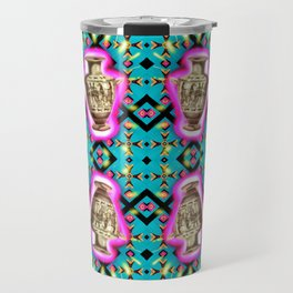 Ancient Vessel, Neon Blips Travel Mug