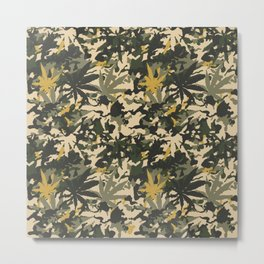 Camo420, The ultimate street camouflage. Metal Print
