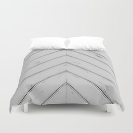 Wooden pattern - arrow shape, art decor Duvet Cover