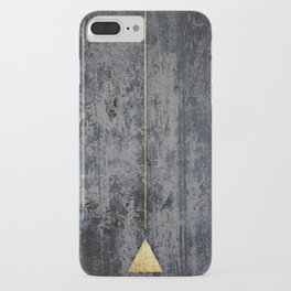 gOld triangle iPhone Case