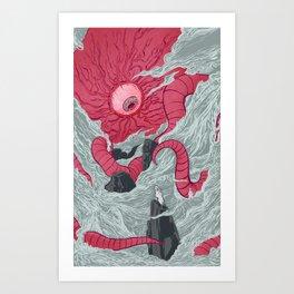 Crawling Eyes Art Print