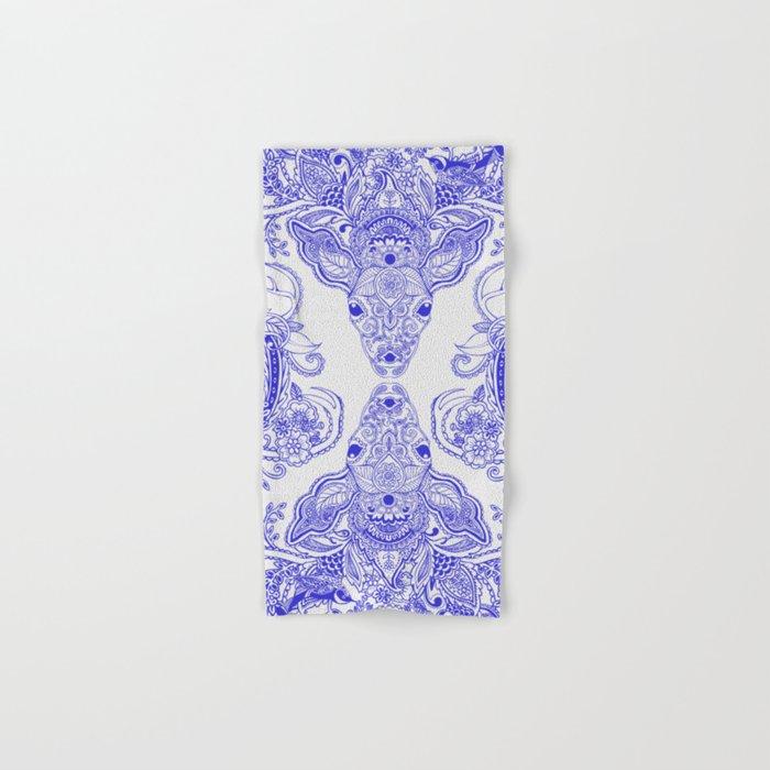 Little Blue Deer Hand & Bath Towel