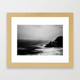 A Dark and Stormy Night Framed Art Print